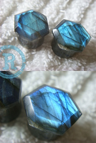 "1/2"" Labradorite Super Facets"
