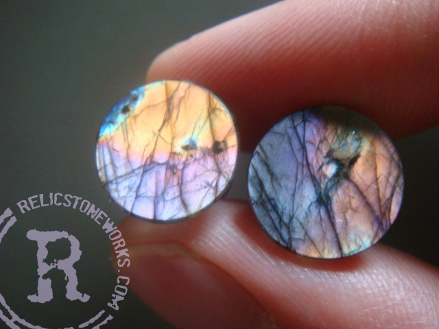 0g Purple/Orange Labradorite Mayans