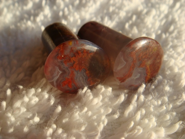 00g Cathedral Agate Conches