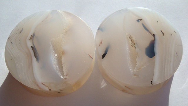 Dendritic Agate Geodes
