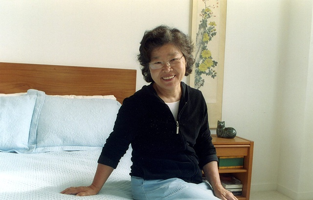 Sooncha in her apartment