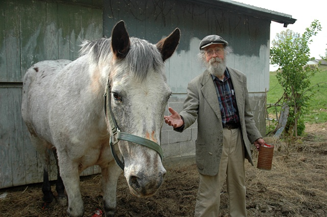 Gordon and his horse