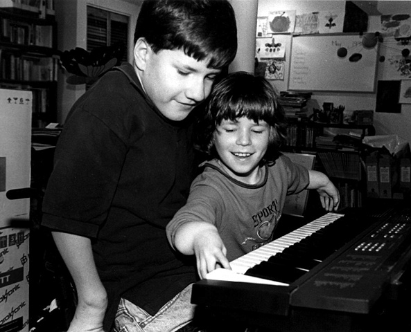 Natalya and Vladimir at the piano