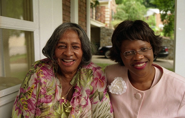 Melba Marsh, Cincinnati judge, and her mother