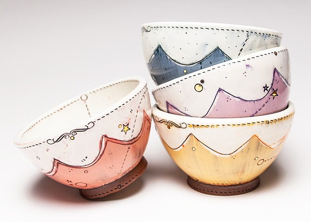 Scallop Bowls
