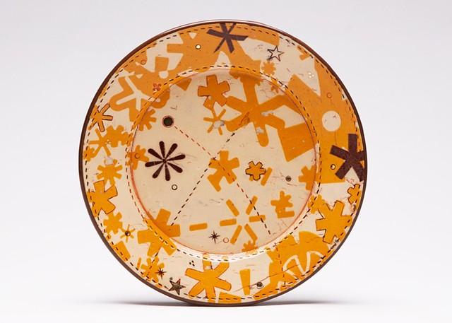 Asterisk Dessert Plate