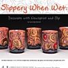 """PAGE 1 of 5 """"Slippery When Wet"""" by Jason Bige Burnett"""
