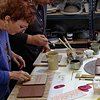 Slip, Slide and Stick: Image Transfer onto Clay Baltimore Clayworks