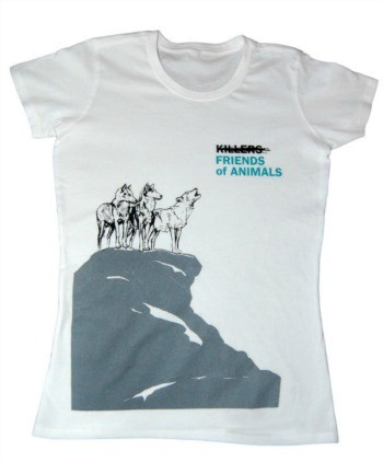 Friends of Animals Wolf T-Shirt