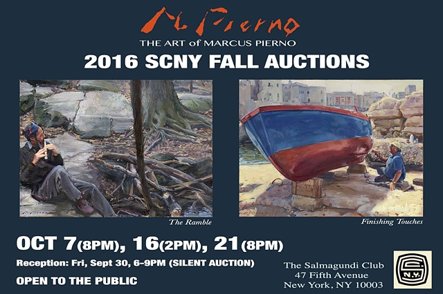2016 SCNY FALL AUCTIONS