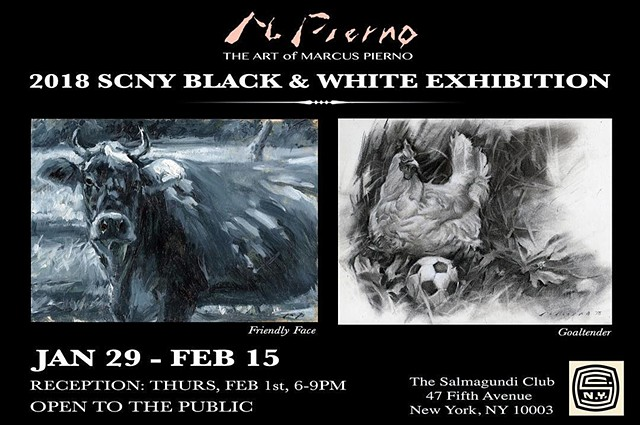 2018 SCNY Black & White Exhibition