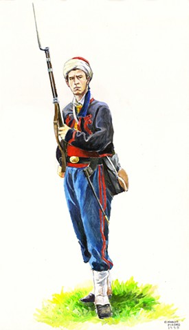 "10th N.Y. ""National Zouaves"", 1861"