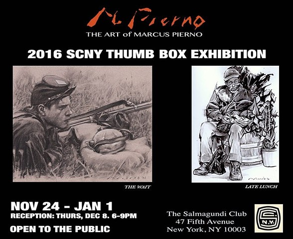 2016 SCNY THUMB BOX EXHIBITION