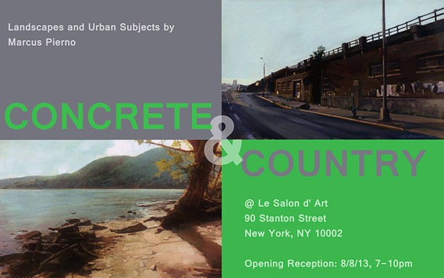 Concrete and Country Solo Show
