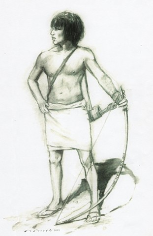 Egyptian Archer, Battle of Qadesh, Ancient Egypt