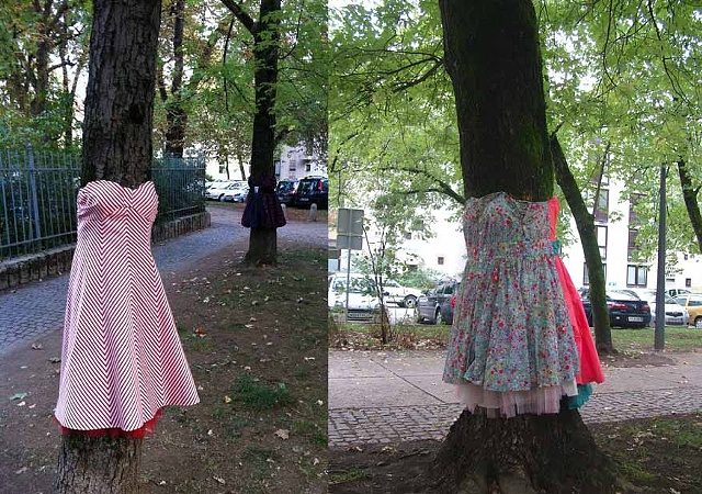 Tree Dress Park Tabor, Ljubljana Oct - December 2011