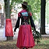 "Illusion Dress 2 ""Speaking""  4 hour Durational performance in Park Tabor 8th October 2011  photo by Nada Zgank"