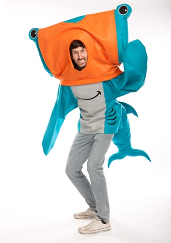 T-Shark Costume for Threadless