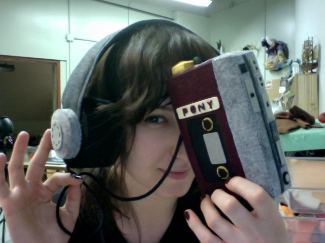 Pony Walkman & Headphones