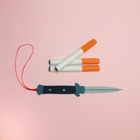 Switchblade Ornament + Cigarettes