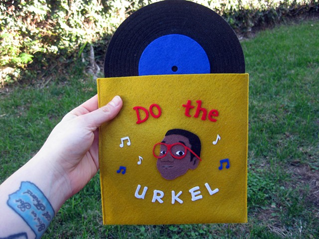 """Do The Urkel"" Plush 7inch Record"