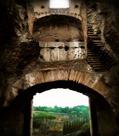 thru ancient walls