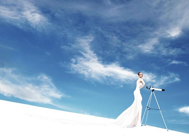 Emily Ratajkowski for Lloyd Klein Couture