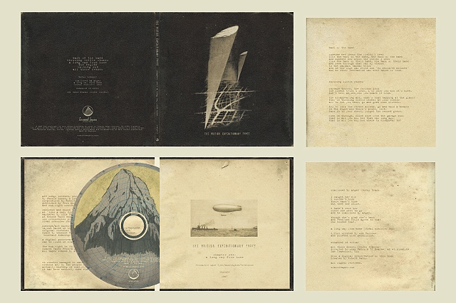 The British Expeditionary Force CD version, courtesy of Erased Tapes Records, London, England.