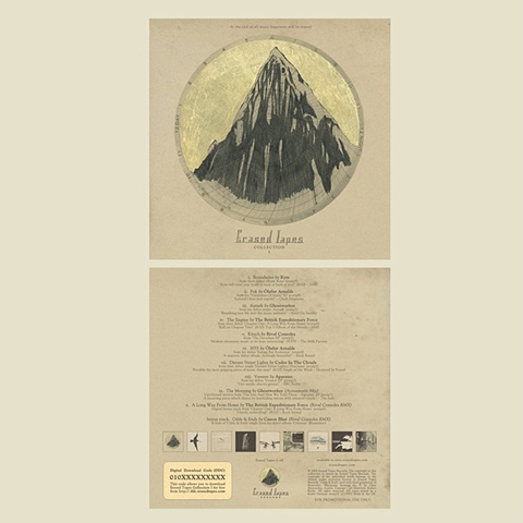 Erased Tapes Records compilation CD, courtesy of Erased Tapes Records, London, England