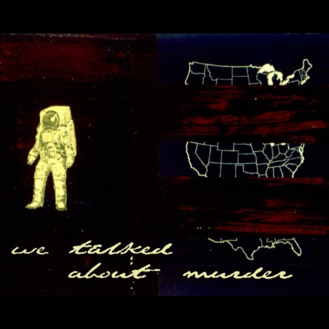 We Talked About Murder - Self Titled CD Has Anyone Ever Told You Records Austin Texas, USA
