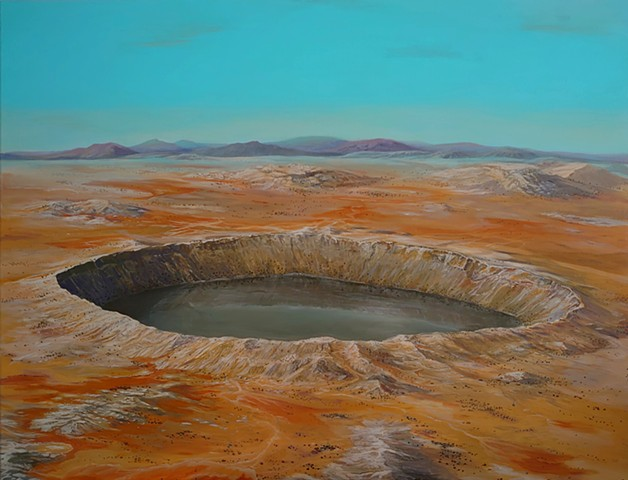 Crater with Lake
