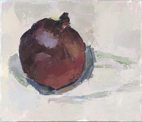 Pomegranate, Chambersburg Oil on Canvas 10 x 12 2017
