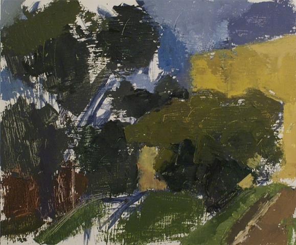 Landscape, Christopher Dolan, Painting