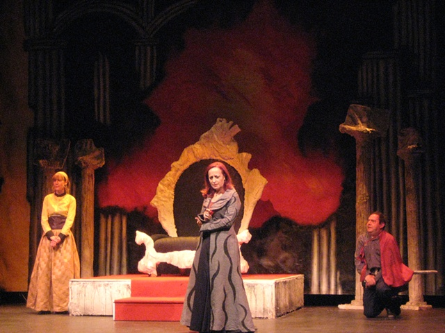 """Juana La Loca"" Theater play"