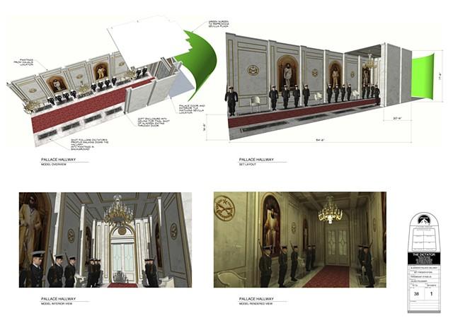 """""""The Dictator""""  Set Designer"""