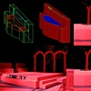 """Macbeth""  Preproduction Autocad 3d Design for fountain piece and built fountain on stage"