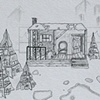 """Miracle on 34th Street""   Pre-production drawing"