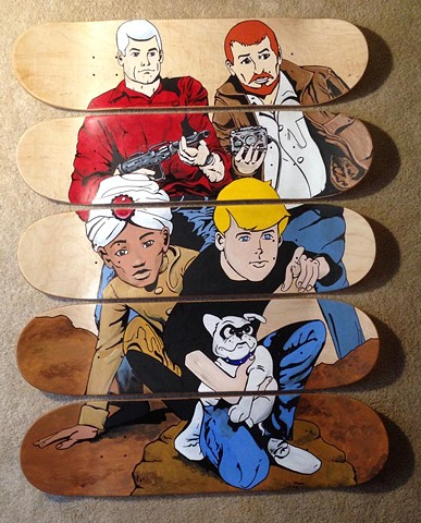 Johnny Quest Skate Decks