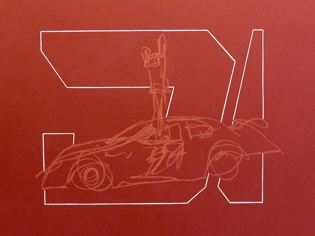 Jeff Gordon Pit Stop Drawing (16 seconds)