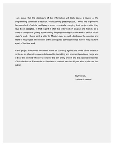 Letter to articule director page 2