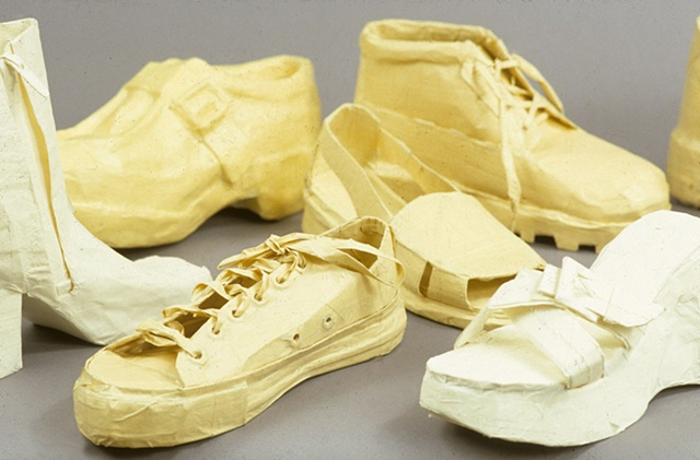 Masking Tape Shoes