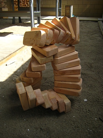 Beginning Sculpture  Project: Stacking as a sculptural strategy