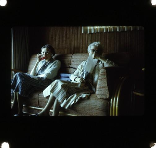Stil image from Film, Travel Log.