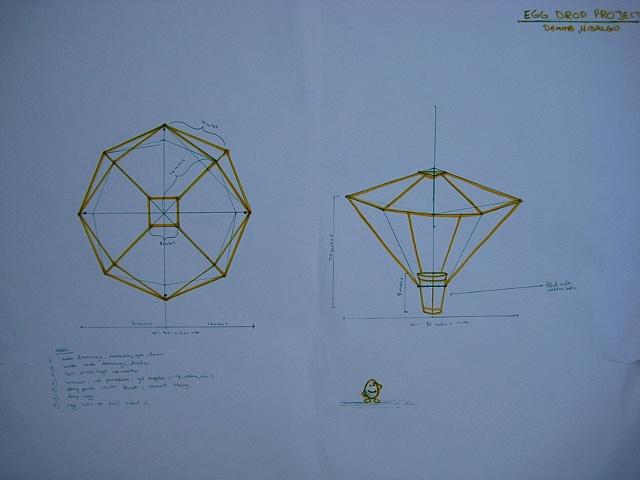 Beginning Sculpture Egg Drop Drawing