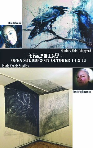 Islais Creek Studios ad for San Francisco Open Studios 2017
