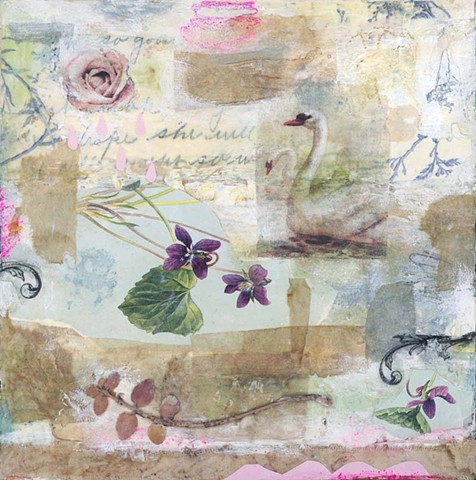 Angela Petsis; encaustic painting; encaustic art; encaustic mixed media; art; mixed media; nature art; mixed media art; angela petsis encaustic artist; collage art; encaustic collage