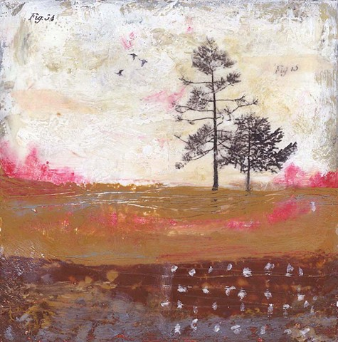 Angela Petsis; Encaustic painting; encaustic art; encaustic mixed media; Art; mixed media