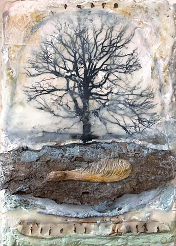Angela Petsis; Encaustic painting; encaustic art; encaustic mixed media; Art; mixed media; nature art