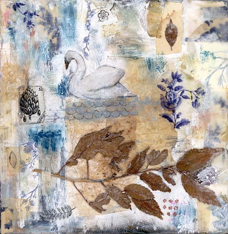 Angela Petsis; encaustic painting; encaustic art; encaustic mixed media; art; mixed media; nature art; mixed media art; angela petsis encaustic artist; collage art; encaustic collage; nature artist