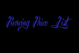 Piercing Prices